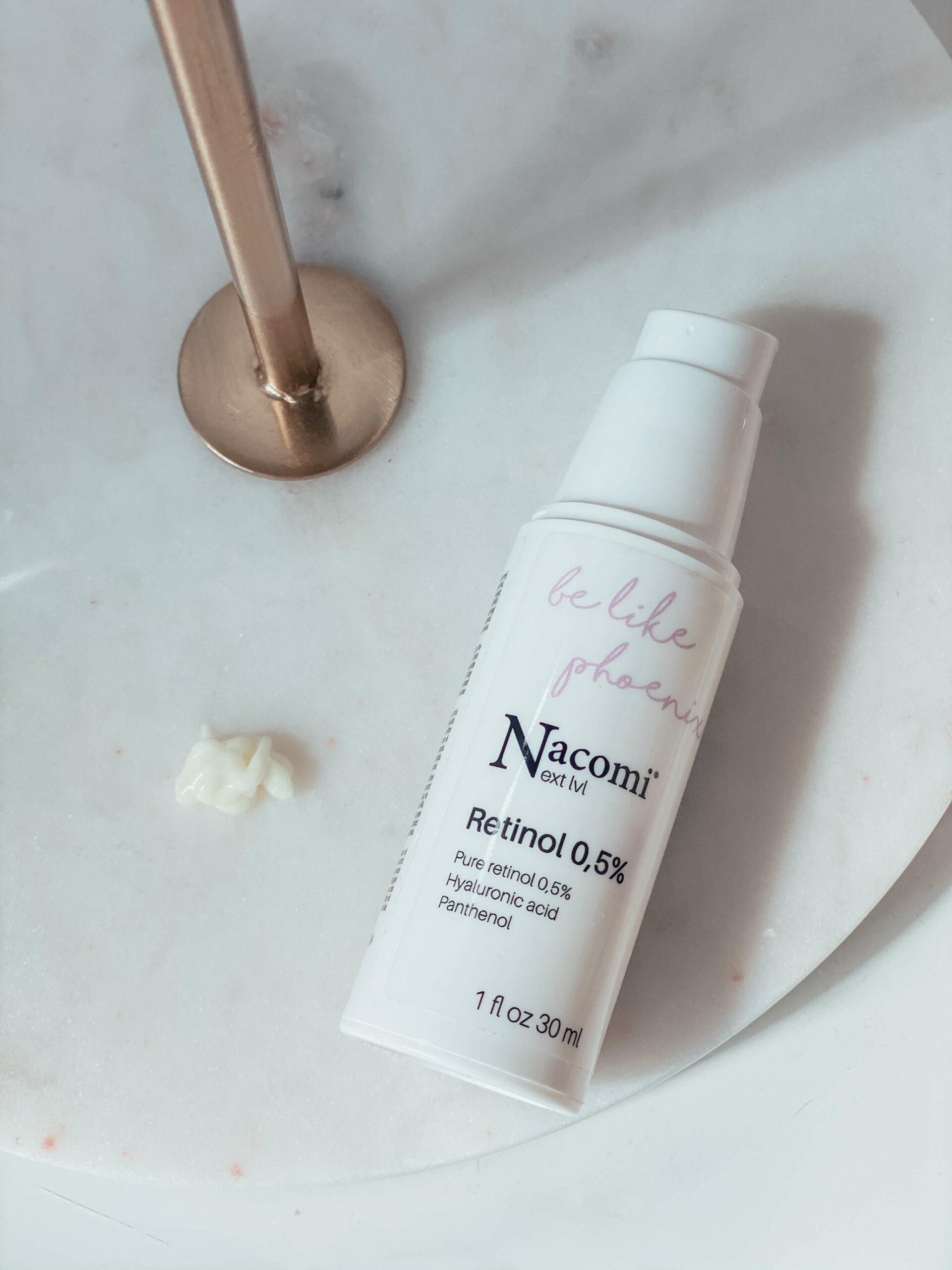 Nacomi next level serum z retinolem 0,5%
